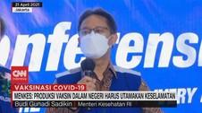 VIDEO: Menkes Angkat Bicara Soal Vaksin Nusantara