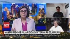 VIDEO: Mantan Mensos Juliari Didakwa Terima Rp 32,4 Miliar