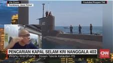 VIDEO: Pencarian Kapal Selam KRI Nanggala 402