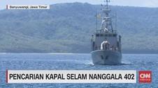 VIDEO: Pencarian Kapal  Nanggala 402 di Bali & Banyuwangi