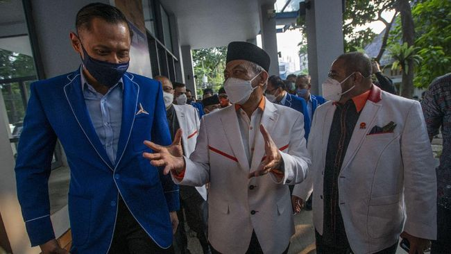 Ketum Demokrat AHY dan Presiden PKS Ahmad Syaikhu sama-sama menyoroti kinerja pemerintah menanggulangi pandemi.