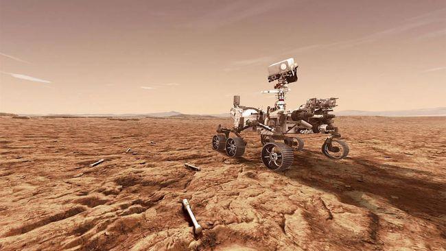 NASA dilaporkan berhasil mengabadikan keberadaan debu misterius yang ada di planet Mars.