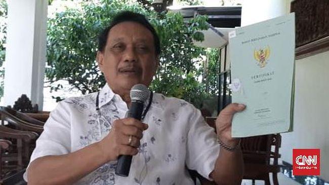 Merasa jadi korban kasus sertifikat tanah ganda, eks Walkot Semarang mengggat BPN ke Pengadilan Negeri Semarang.