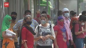 VIDEO: Kasus Harian Corona India Lampaui Rekor Dunia