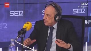 VIDEO: Presiden Madrid Klaim European Super League Tak Bubar