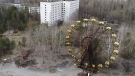 FOTO: Suram di Pripyat, Kota yang Dibunuh Chernobyl