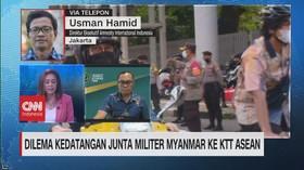 VIDEO: Dilema Kedatangan Junta Militer Myanmar ke KTT ASEAN