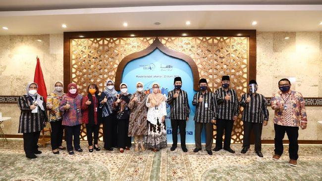 Menyambut bulan suci Ramadan 1442 Hijriah, BRI kembali memberikan dukungan kepada masyarakat berupa bantuan untuk Masjid Istiqlal.