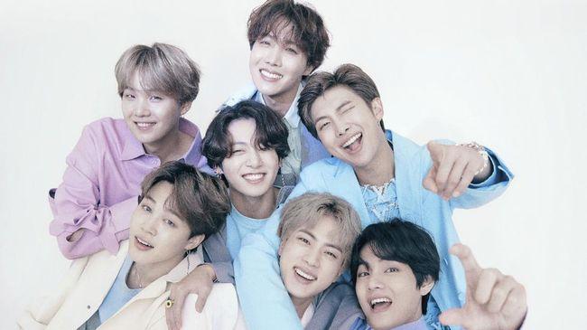 Boyband BTS kembali diperhitungkan di ajang penghargaan global, dengan masuk sebagai nominasi di acara MTV Movie & TV Awards 2021.