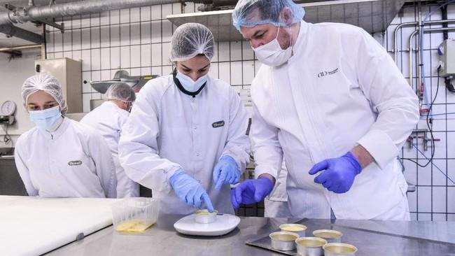 FOTO: Bekal Makanan Koki Michelin untuk Astronaut Prancis