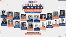 Ragam Ilmu Bisnis dari Pengusaha Top di Festival Ide Bisnis