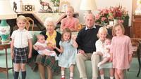 <p>Kate Middleton mengumumkan kehamilan anak ketiganya pada September 2017. Saat itu ia telah memiliki dua anak, George dan Charlotte.Louis menjadi anak kelima dalam garis suksesi takhta Britania Raya. (Foto: Instagram @kensingtonroyal)</p>