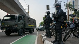 FOTO: Jakarta Bersiap Sambut Pemimpin ASEAN Bahas Myanmar