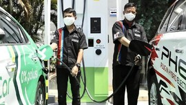 Pertamina Gaet Grab Kembangkan SPKLU Fast Charging di Soetta