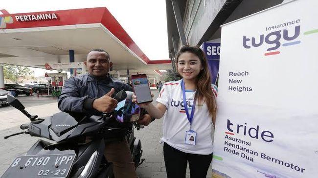 PT Pertamina menggaet Tugu Insurance untuk mendorong mitra kerjanya, terutama lembaga penyalur seperti SPBU dan Pertashop memiliki asuransi.