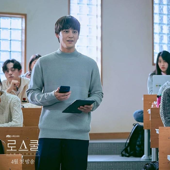 Tujuan ia menjadi mahasiswa Hukum di Hankuk University masih menjadi sebuah misteri (foto: instagram.com/jtbcdrama)