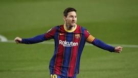 FOTO: Gara-gara Griezmann, Messi Gagal Hattrick Lawan Getafe