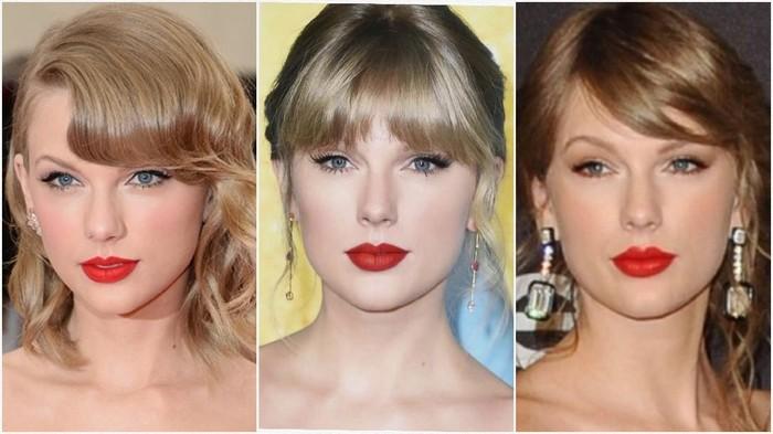 Tampil Menawan dan Classy dengan Lipstik Merah Andalan Taylor Swift