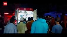 VIDEO: RS di India Terbakar, 13 Pasien Covid-19 Tewas