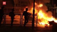 VIDEO: Warga Palestina-Polisi Israel Bentrok Usai Buka Puasa
