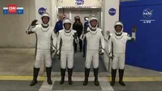 VIDEO: Detik-detik SpaceX Luncurkan Misi Astronaut Crew-2