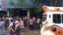 VIDEO: 13 Orang Tewas akibat Kebakaran RS Covid-19 di India