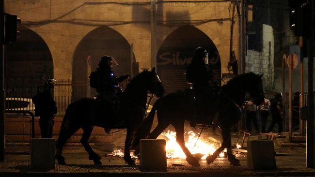 Indonesia mengecam aksi kekerasan aparat keamanan Israel terhadap warga Palestina yang beribadah di Masjid Al-Aqsa di Yerusalem.