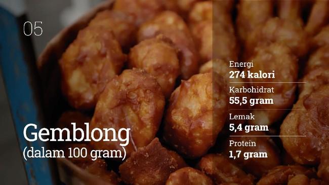 Makanan manis menjadi sajian idola untuk takjil berbuka puasa. Berikut nilai gizi yang terkandung dalam sajian takjil.