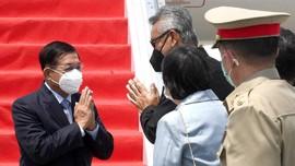 Panglima Kudeta Myanmar Aung Hlaing Tiba di Indonesia