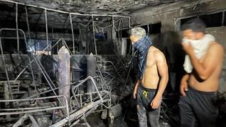 Kebakaran RS di Irak, Korban Tewas Bertambah Jadi 82 Orang
