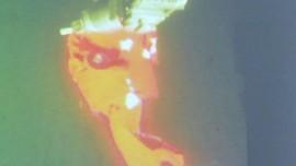 Bagian Kapal KRI Nanggala-402 Ditemukan Dekat Kawah Misterius