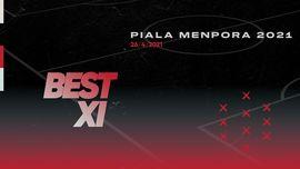 INFOGRAFIS: Best 11 Piala Menpora, Arhan dan Riko Masuk
