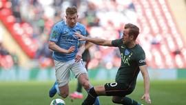 De Bruyne Jadi Pemain Terbaik Liga Inggris Versi PFA