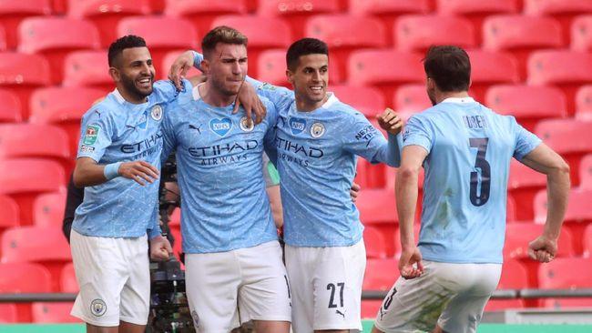Manchester City punya tiga kesempatan untuk memastikan juara Liga Inggris musim 2020/2021 pada pekan ini.