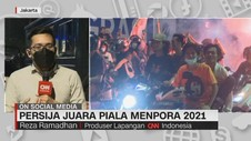 VIDEO: Persija Juara Piala Menpora 2021