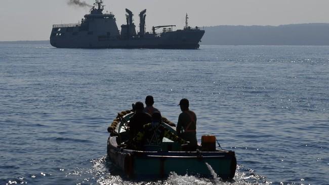 TNI AL Sebut Kapal China Gagal Angkut Anjungan KRI Nanggala