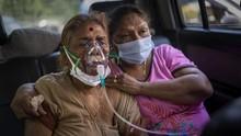 India Kembali Tembus Rekor Covid, 412 Ribu Kasus Baru Sehari