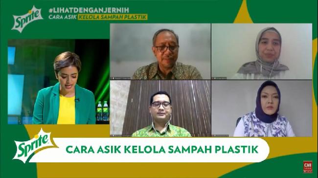 Meluncurkan kemasan baru Sprite, Coca-Cola Indonesia mengajak masyarakat terlibat mengatasi permasalahan sampah plastik melalui kampanye #LihatDenganJernih.
