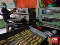 FOTO: Geliat Industri Kue Kering Lebaran di Tengah Pandemi