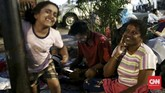 Mengintip hari-hari para pencari suaka di trotoar depan Kantor UNHCR, Kebon Sirih, Jakarta Pusat selama Ramadan.