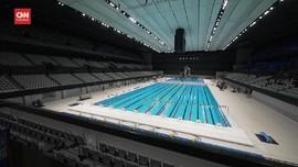 VIDEO: Uji Coba Venue Akuatik Olimpiade Tokyo