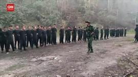 VIDEO: Pedemo Myanmar Latihan Militer Bersiap Hadapi Junta