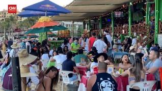 VIDEO: Pantai-pantai di Meksiko Seakan Tanpa Corona