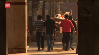 VIDEO: Badai Covid, Api Terus Berkobar di Krematorium India