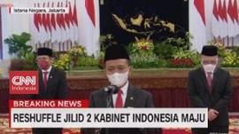 VIDEO: Menteri-menteri dan Kepala Badan yang Dilantik Jokowi