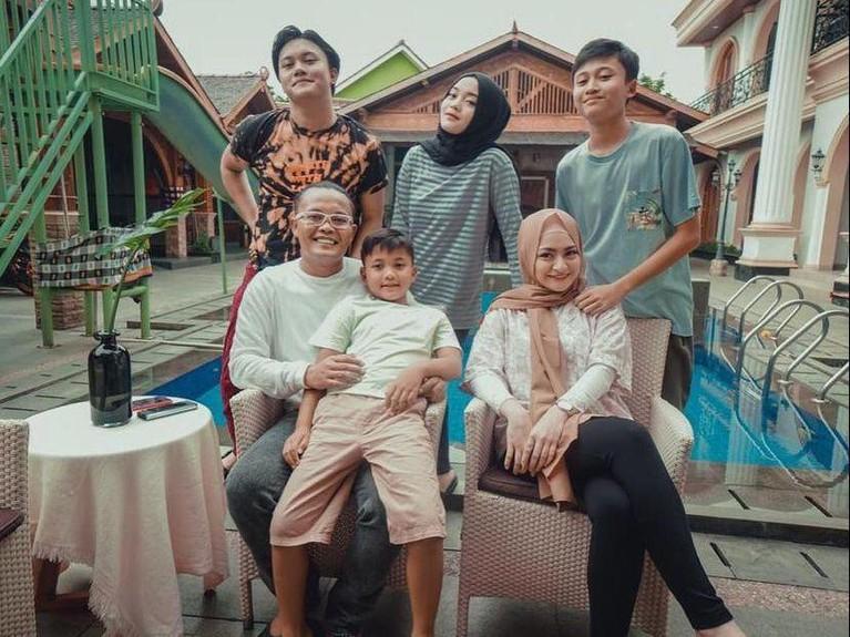Potret kekompakan keluarga Sule