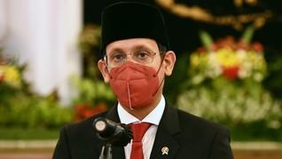 Nadiem Jawab Jokowi soal Terobosan Selama Jadi Mendikbud
