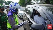 Larangan Mudik, 4 Ribu Kendaraan Dihalau Masuk Yogyakarta