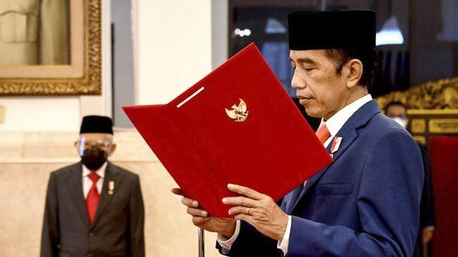 Presiden Jokowi mengatakan Indonesia membutuhkan sinergi kekuatan bangsa dalam memecahkan berbagai masalah yang timbul usai pandemi Covid-19.
