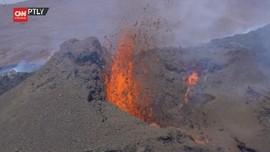 VIDEO: 6000 Tahun Tak Aktif, Gunung Fagradals-Fal Meletus